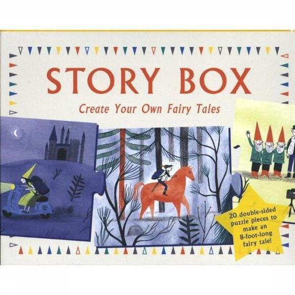 Laurence King Livre Story Box: Create Your Own Fairy Tales Assortiment