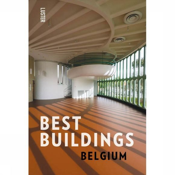Luster Boek Best Buildings - Belgium Assortiment