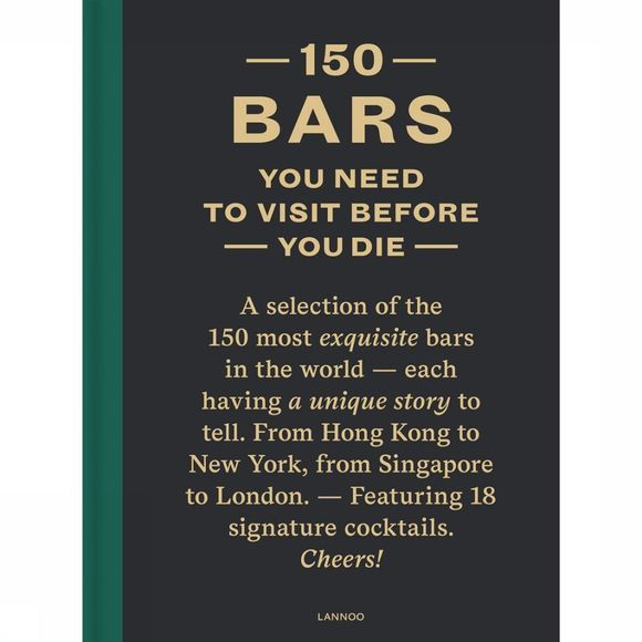Lannoo Boek 150 Bars You Need To Visit before You Die Geen kleur