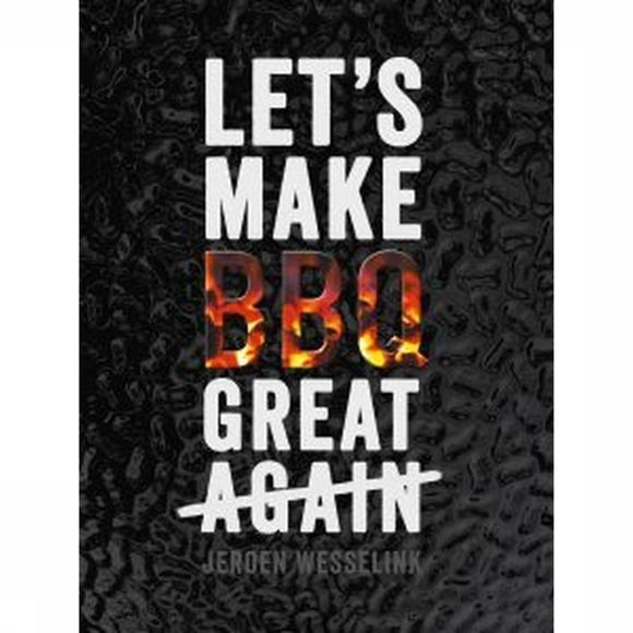 Good Cook Boek Let's Make BBQ Great Again Geen kleur