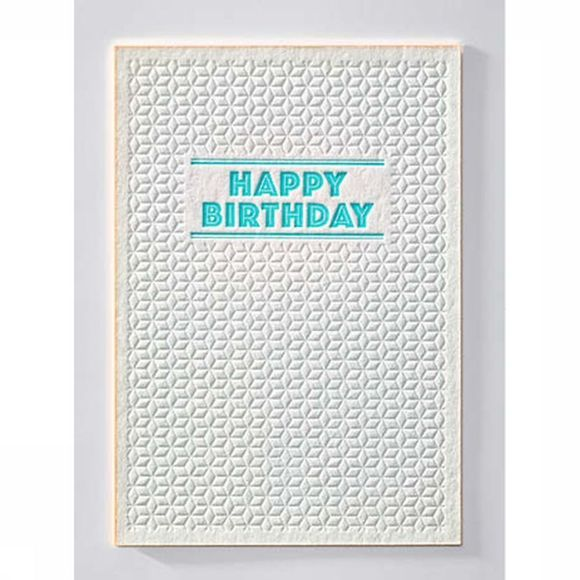Papette Cartes de Voeux Sparkle2 Happy Birthday Pas de couleur