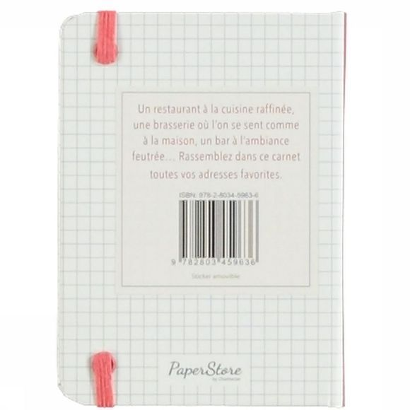 Deltas Papierwaren Mes Adresses Favorites Carnet De Notes Geen kleur