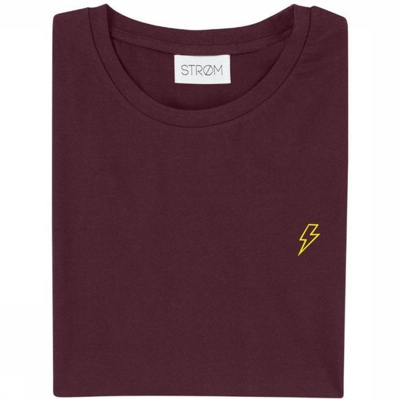 Strom T-Shirt Lightning Bordeaux