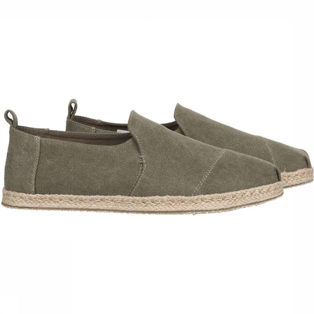 Chaussures Toms Toile Olive Lavé Est Decnalp Esp Pour Les Hommes - Kaki Clair 8K5jv4I3W
